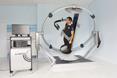 Трехмерная гравитационная гимнастика на аппарате 3D Newton - ЦМРТ Озерки